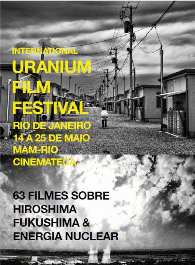 cartaz uranium film festival 2014 in rio mam