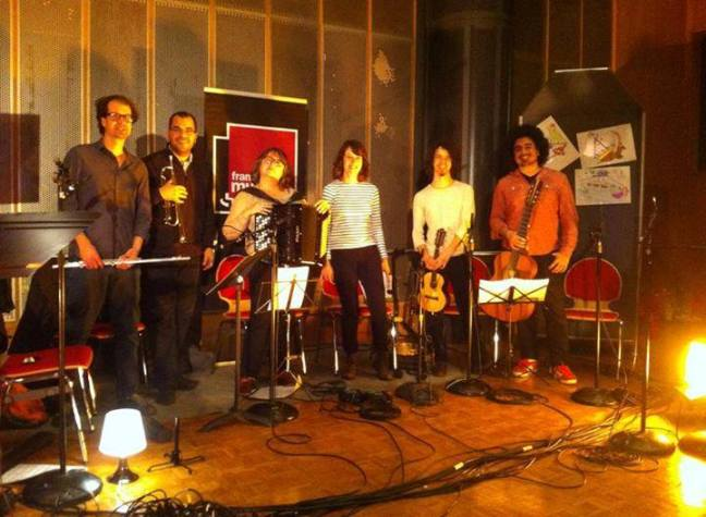 instrumentistas do clube do choro de paris