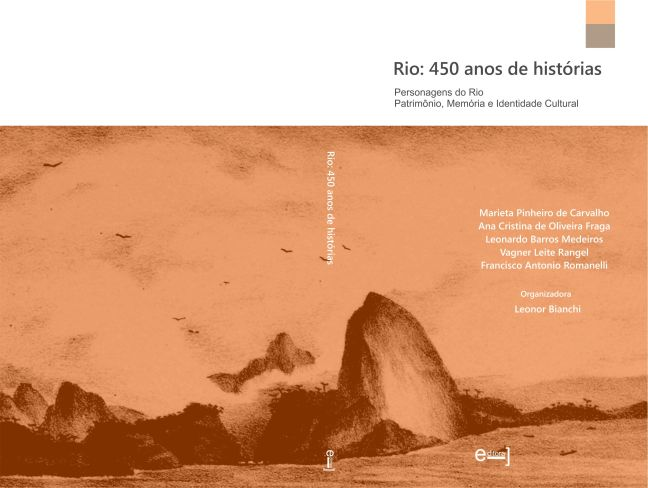 capa e 4a capa livro Rio 450 anos de historias laranja